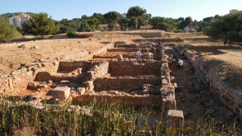 Olbia est l'unique témoin, conservé dans l'intégralité de son plan, d'un réseau de colonies-forteresses grecques, fondées à partir du IVe siècle avant J.-C. / © Site archéologique d'Olbia