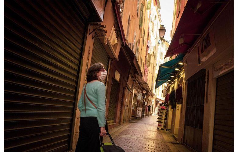 Le Vieux Nice silencieux, un matin quelques jours avant le déconfinement / © Mathieu Muollo