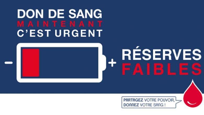 L'Etablissement français du sang lance un appel au don en ce mois de juin 2020. / © EFS