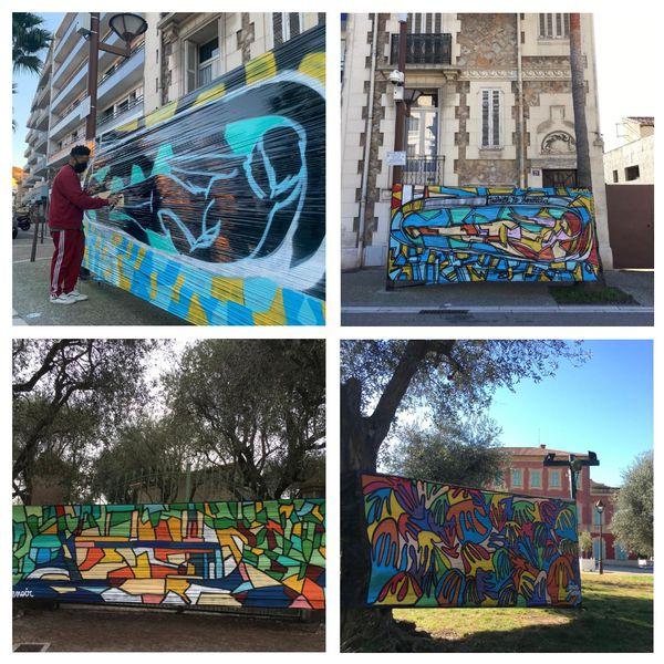 L'artiste investit les musées... à l'extérieur et en couleurs !