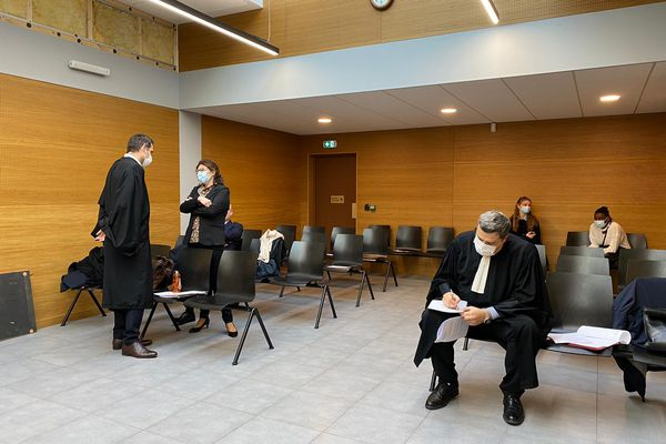 Nice, le lundi 8 février - La décision du Tribunal administratif sera rendue demain.