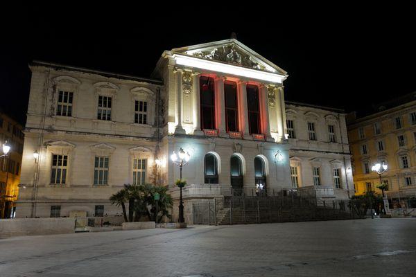 Tribunal de Nice, le 13 mars 2021 - Marc Jean-Talon reconnaît que le tribunal de Nice traite d'importantes affaires de délinquance et de contentieux liés à la construction et à la copropriété.