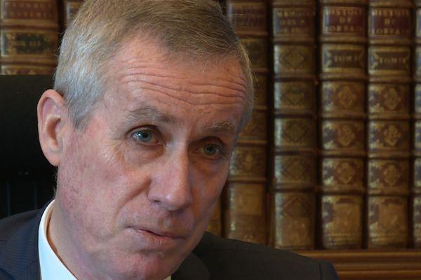 François Molins, ancien procureur de Paris, aujourd'hui procureur général près la Cour de cassation.