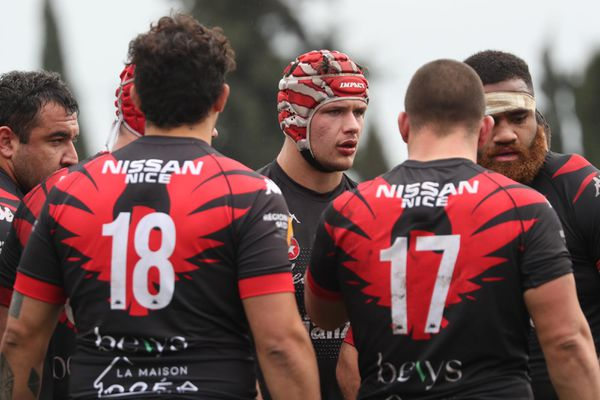 Arrivé en septembre 2020, James Lasis est l'un des joueurs incontournables du Stade Niçois Rugby.