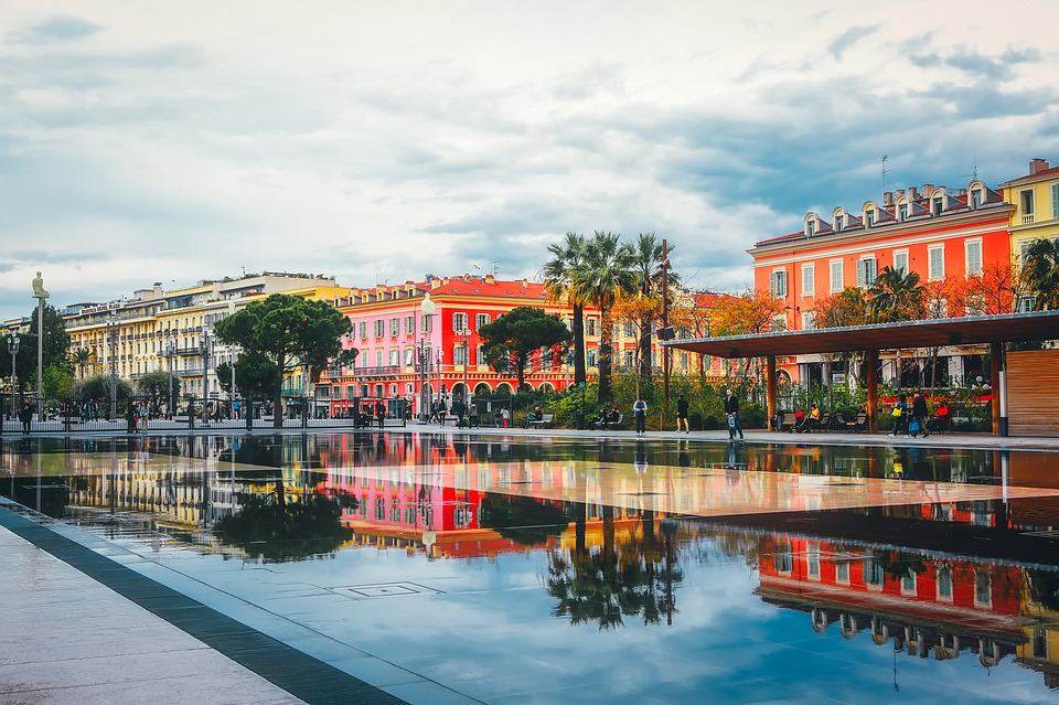 Vacances d'été à Nice